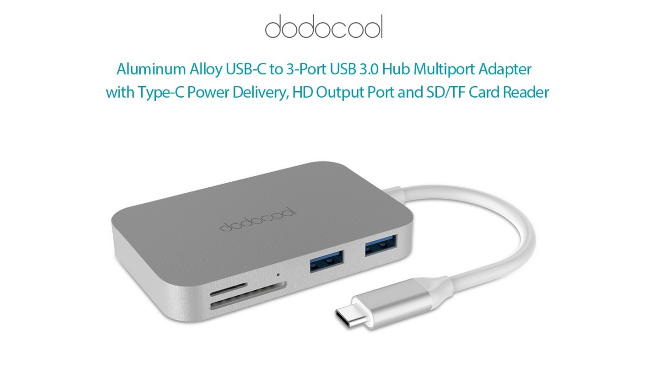 Dodocool USB Type-C 7 in 1