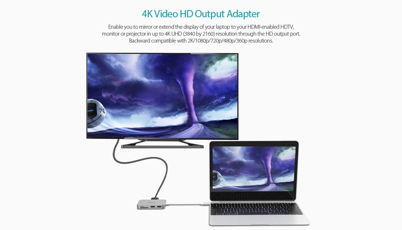 4K video output HDMI