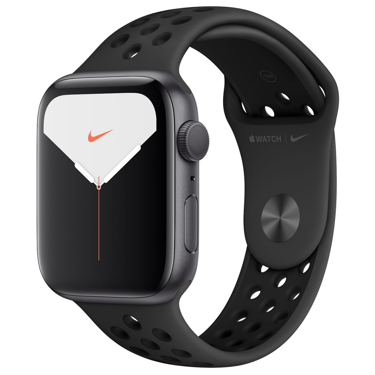 Apple Watch Series 5 Nike 44mm GPS Space Gray Aluminum Case with Anthracite/Black Nike Sport Band