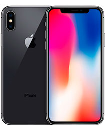 iPhone X Space Gray